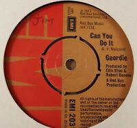 """Geordie : Can You Do It : Vintage 7"""" Single from 1973"""