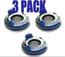 "Intex River Run I Inflatable 3 PACK Water Lounge 53"" Raft Tube Sale!"