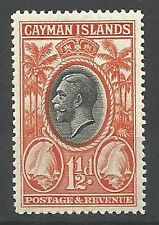 Mint Hinged Pre-Decimal Cayman Islands Stamps