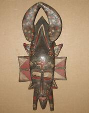 Beautiful African Senufo Mask Masque Africa Baule Guro KPELIE Ivory Coast Statue