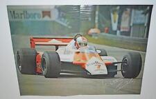 Old Poster -- F1 Racing McLaran.