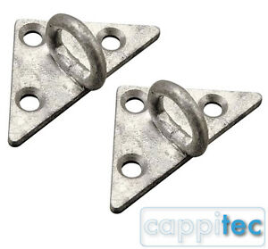 2x TRIANGULAR BRACKET 22 FOR 10A DROPWIRE CLAMP OVERHEAD BT CABLE INSTALLATION
