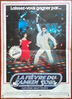 Plakat La Fieber Du Samstag Abend - Saturday Night Fever John Travolta 40x60cm