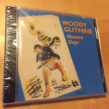 WOODY GUTHRIE - Nursery Days BRAND NEW & FACTORY SEALED CD Smithsonian Folkways