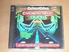 BOITIER 2 CD RARE / CYBERNETIC PUNK VOLUME 1 / NEUF SOUS CELLO