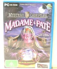 PC Games-MYSTERY CASE FILES Madame Fate   Brand New in Box   PC Puzzle Game