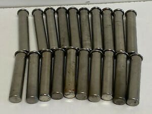 C10: Lot of 20 International IEC Centrifuge Rotor Buckets #302 &303 (10x Each)