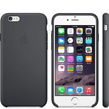 Genuine Silicone Case for Apple iPhone 6s / 6 in Black (Charcoal Grey)