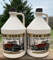"""100% Pure Maple Syrup-NY- 2 gallons (256 oz) """"Special"""""""