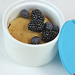 Ramkin - Set of 4 colours with silicone lids - 9cm