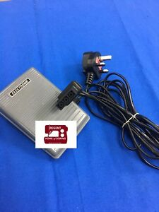 Brother 3 Pin Foot Control Pedal Complete Type N, SEWING/OVERLOCK #XC7456521