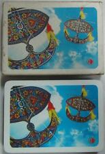 Malaysian Airline System Flying Kite Blue Playing Cards
