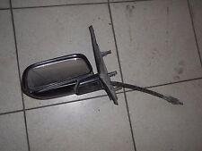 VW Golf 2 II Seitenspiegel Spiegel links Fahrerseite manuell schwarz lackiert