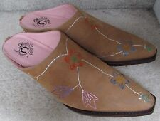 Charlie 1 Horse by Lucchese Women's Hand Painted Cowboy Mules Size 7B