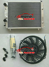 RADIATORE & Fan PER Lancia Delta HF Integrale 8V/16V/Evo 2.0L Turbo 1987-1995
