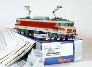 ROCO H0 72633 CC 6500 6519 livrée TEE 1,5 kV SNCF DC DIGITAL SOUND ZIMO NEUVE