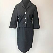 Vintage 60s Adelaars Aristocrat Black Diamond Texture size M L Skirt Jacket SK5