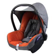 BAMBINIWELT Ersatzbezug 6tlg. Maxi-Cosi CABRIOFIX Baby MELIERT GRAU/ORANGE