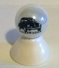 Volkswagon Beetle Bug Car Logo On White Pearl Marble