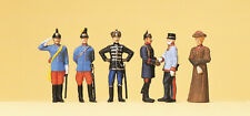 Preiser 12185 Kaiser Wilhelm II, Kaiser Franz Josef, Gefolge, H0