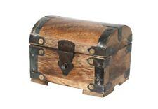 Bauernkasse Klein Schatzkiste Piratenkiste Kiste Truhe Box Aufbewahrungsbox #