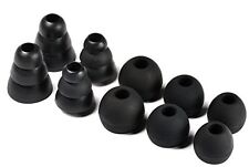 Brand New 10 Replacement Earbud tips EarGel for Monster Beats - MULTISIZE, BLACK