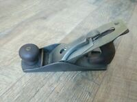 Antique Bailey Smooth Bottom Wood Plane No. 4 Hand Tools Stanley Pat'd Aug-19-02