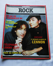 ROCK Music Performance No.72(Jan 1984)John LENNON- HARD ROCK- BERCOFF-VIDEO CLIP
