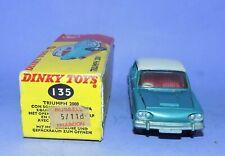 * 1963-1969  *  DINKY TOYS  *  NO 135  *  TRIUMPH 2000  *  IN ITS ORIGINAL BOX *