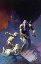 """Battlefield Earth"" by Frank Frazetta  poster, brand new, large 2' x 3'"