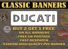Classic Ducati Banner for Garage / Shop / Promotional Item Custom Banners!