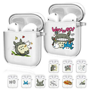 Cartoon Printed Protective Case For AirPods 1 2 Soft Transparent Earphones Cover