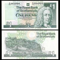 Scotland 1 pound, 2001, P-351e, banknote, UNC
