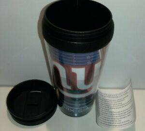 New York Giants Hunter Mfg NFL 16oz Insulated Travel Mug FREE SHIP!! NEW W/PAPER