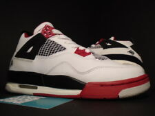 2006 Nike Air Jordan IV 4 Retro GS MARS FIRE RED WHITE BLACK CEMENT GREY 4Y 4