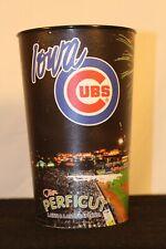 "Iowa Cubs Fireworks Night Souvenir Cup. 6.5"" tall 4"" radius. MINT Condition."