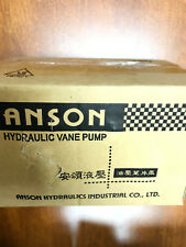 Anson PVF 12-35-10 Hydraulic Variable Single Vane Pumps Yangmachines