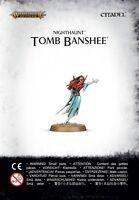 WARHAMMER AGE OF SIGMAR - NIGHTHAUNT TOMB BANSHEE