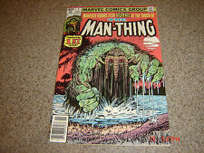 Man-Thing #1 (Nov 1979, Marvel)