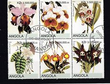 Angola 2000 - Bloemen/Flowers/Blüte (Orchids)