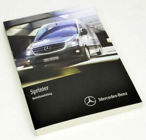 Mercedes-Benz Sprinter Betriebsanleitung, Ausgabe 2014