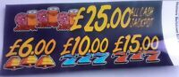 Obselete Homers Meltdown Fruit Machine Decal May Not Be Original (1775)