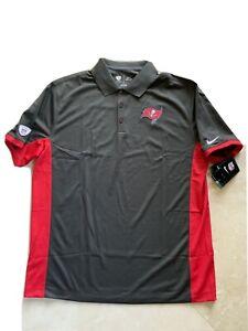 Men's Nike Dri-Fit NFL Equipment Training Tampa Bay Buccaneers Polo Shirt Sz  XL