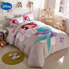 DISNEY'S LITTLE MERMAID 5PC  DUVET COVER COMFORTER SET TWIN FULL QUEEN SIZE