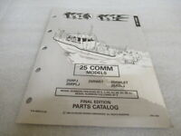 PM129 1994 OMC Outboard 25 COMM Models Final Edition Parts Catalog P/N 435870