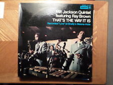 IMPULSE LP RECORD STEREO 9189/MILT JACKSON/BROWN/THAT'S THE WAY IT IS/ VG+