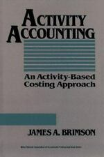 Activity Accounting: An Activity-Based Costing Approach-ExLibrary