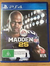 Madden NFL 25 | PS4 Playstation 4 | Very Good Condition