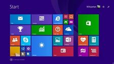 Microsoft Windows 8.1 64-bit Pro Re-install, Recovery, Repair Bootable DVD