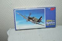 MAQUETTE AVION VICKERS SUPERMARINE SPITFIRE  KP PLANE/PLANO NEUF 1/72 MODEL KIT
